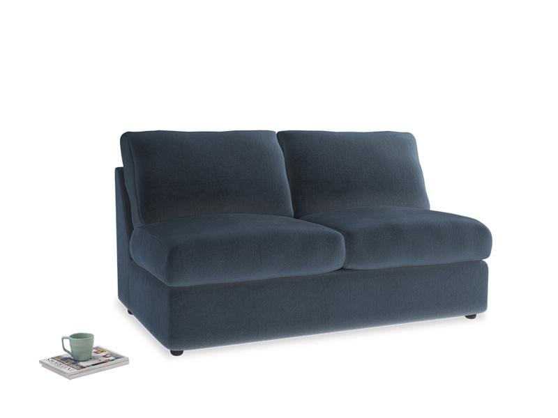 Chatnap Sofa Bed in Liquorice Blue clever velvet