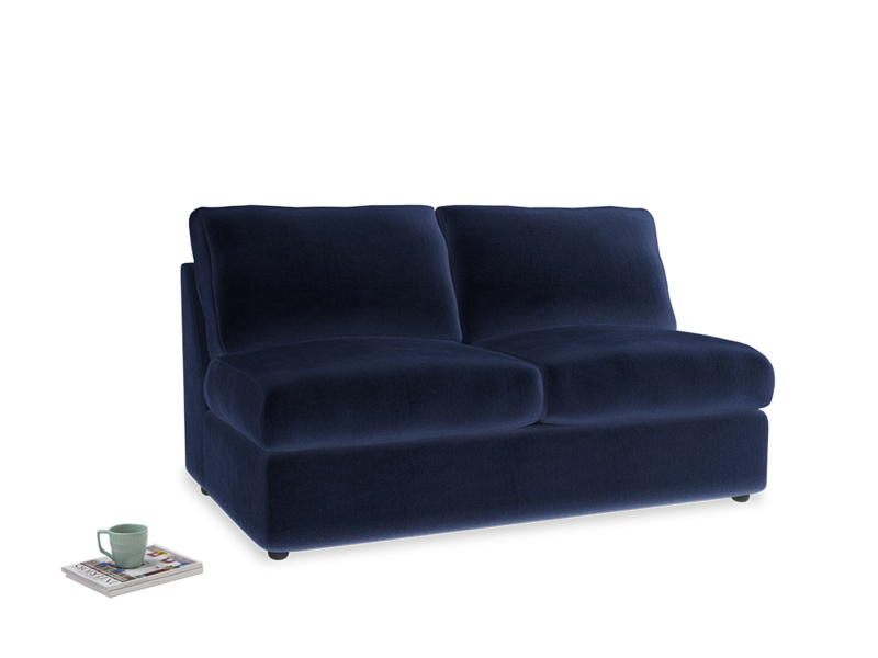 Chatnap Sofa Bed in Midnight plush velvet