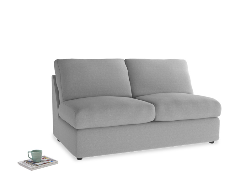 Chatnap Sofa Bed in Magnesium washed cotton linen