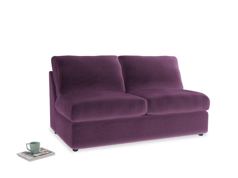 Chatnap Sofa Bed in Grape clever velvet