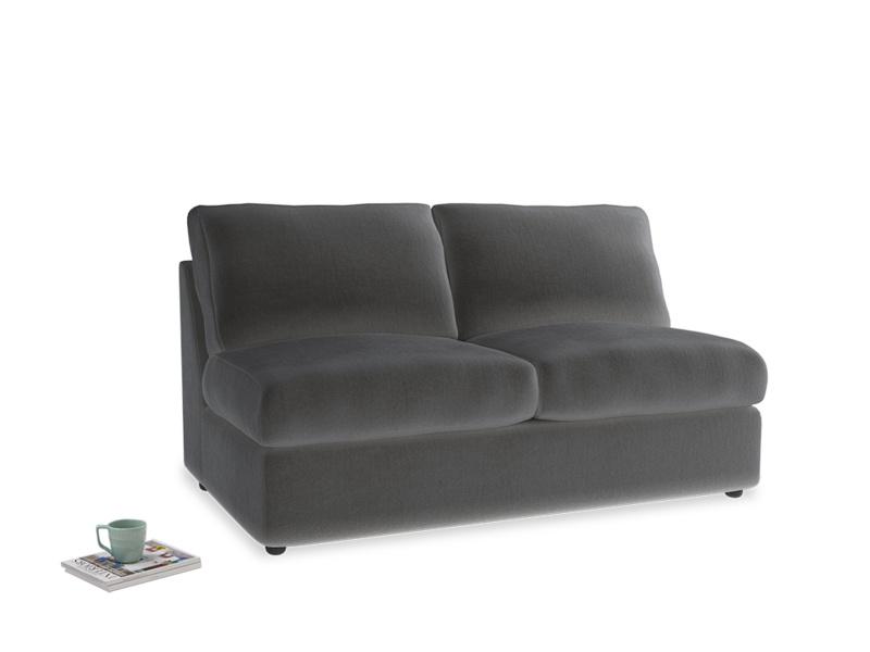Chatnap Sofa Bed in Steel clever velvet