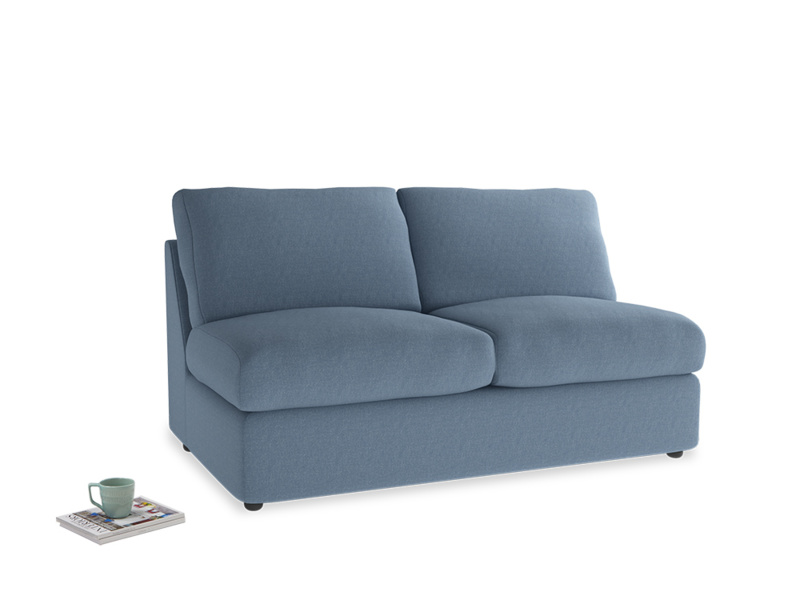 Chatnap Sofa Bed in Nordic blue brushed cotton