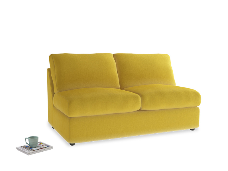 Chatnap Storage Sofa in Bumblebee clever velvet