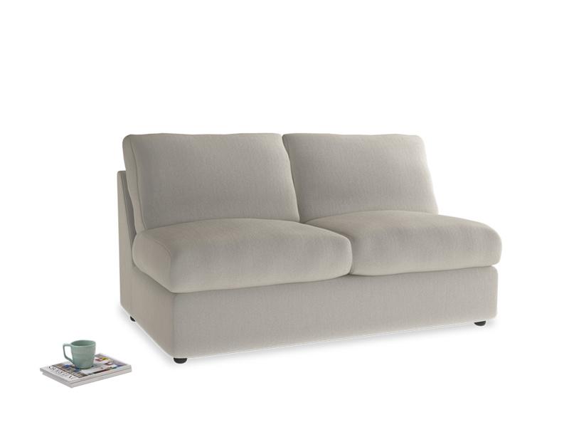 Chatnap Storage Sofa in Smoky Grey clever velvet