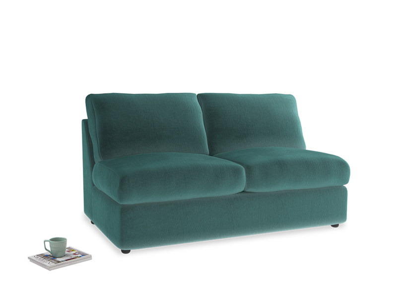 Chatnap Storage Sofa in Real Teal clever velvet