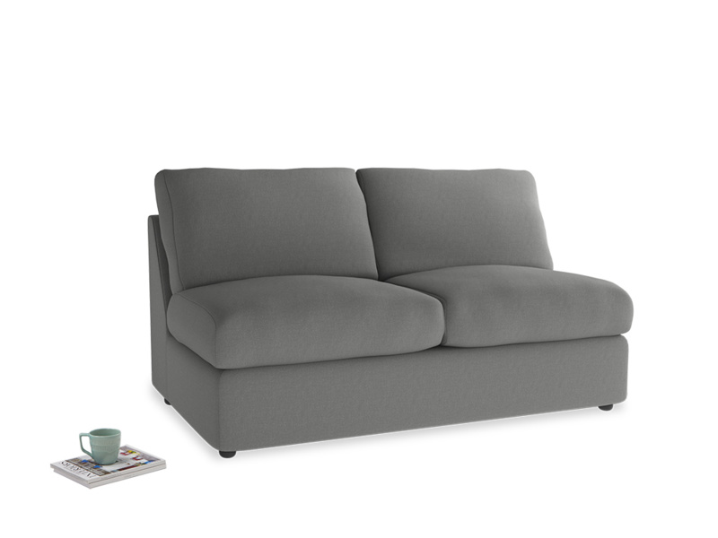 Chatnap Storage Sofa in French Grey brushed cotton