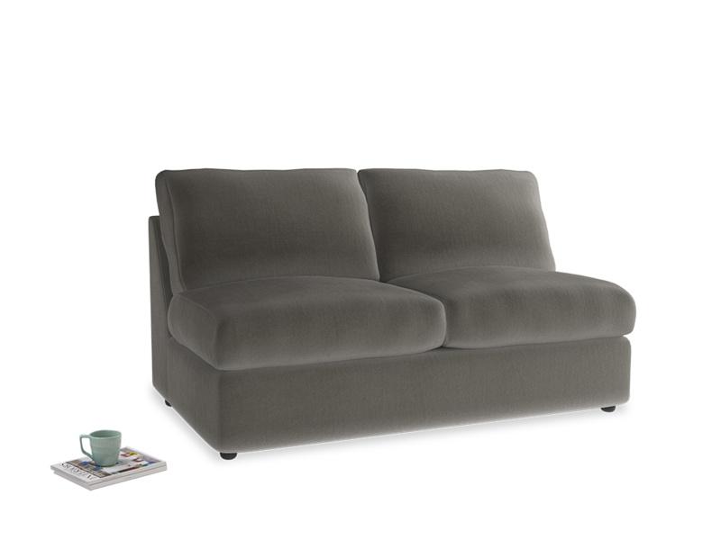 Chatnap Storage Sofa in Slate clever velvet
