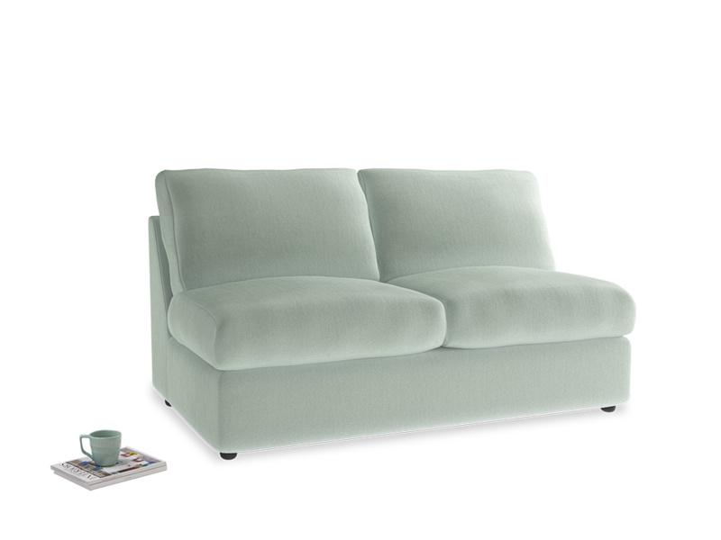 Chatnap Storage Sofa in Mint clever velvet