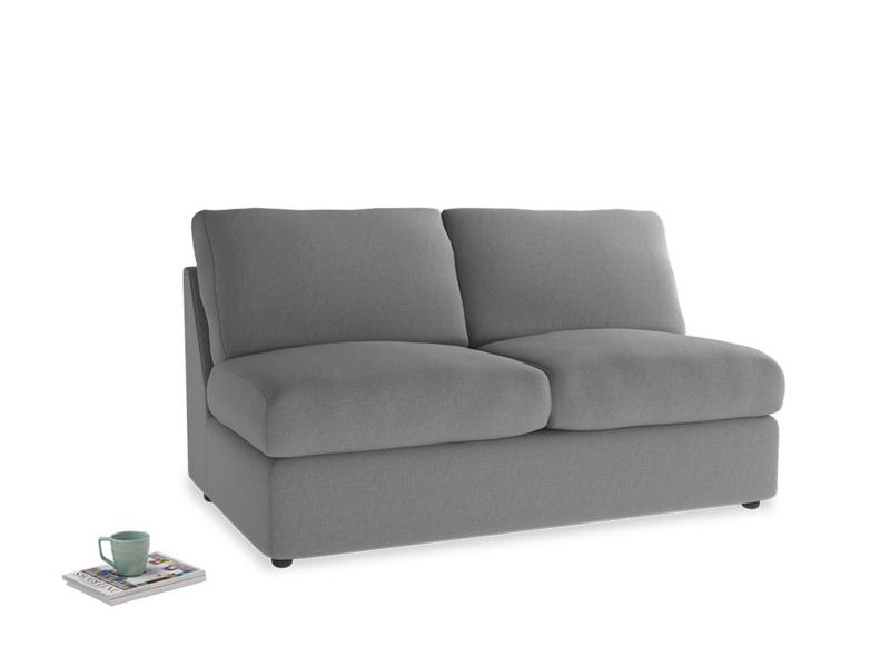 Chatnap Storage Sofa in Gun Metal brushed cotton