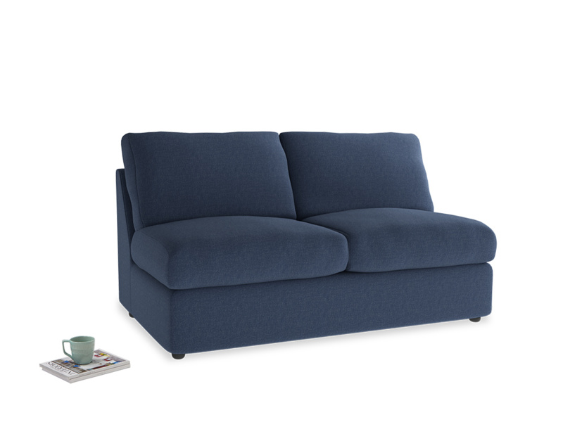 Chatnap Storage Sofa in Navy blue brushed cotton