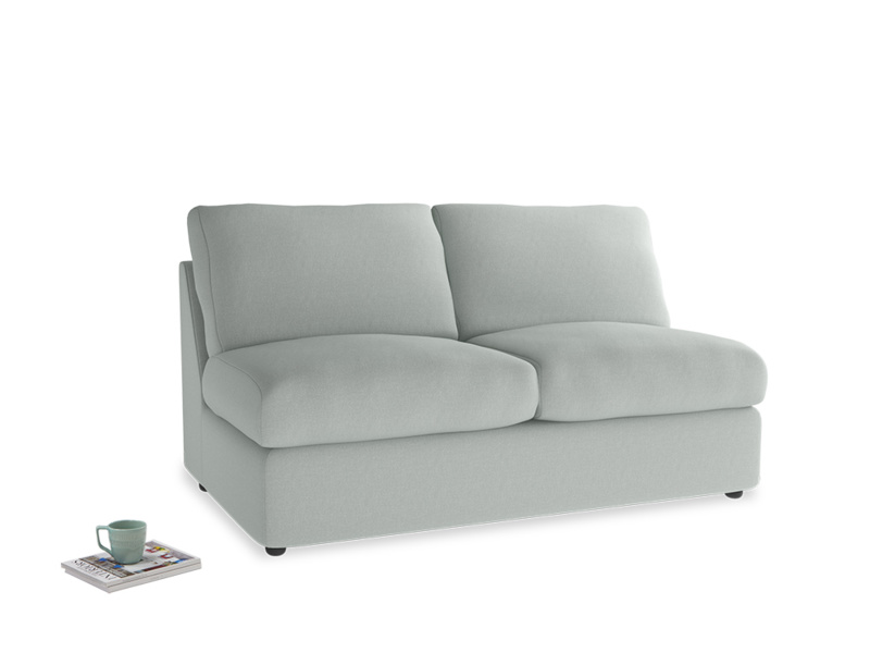 Chatnap Storage Sofa in French blue brushed cotton