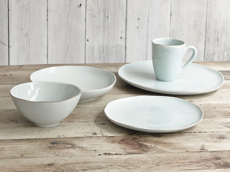 Gorgeous handmade dinner set of Wobbler kitchen ceramics