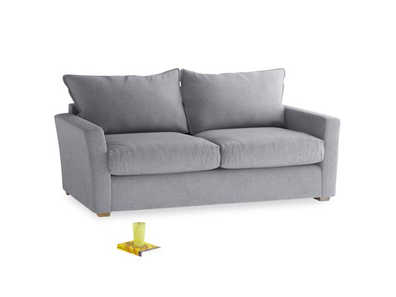 Medium Pavilion Sofa Bed in Dove grey wool