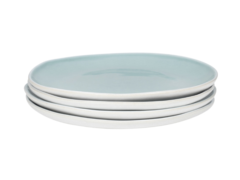 Kilny stoneware white Kilny side plates