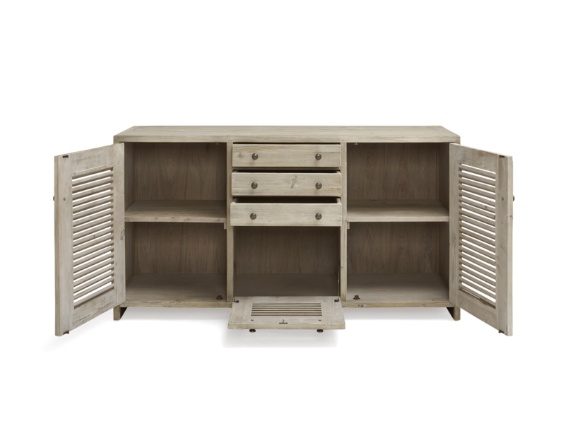 Beautiful kitchen handmade Grand Sucre sideboard