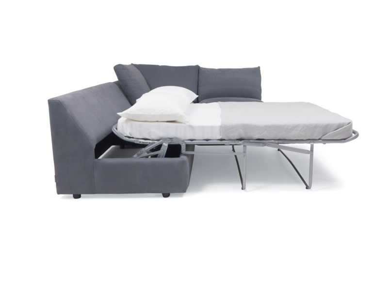 Chatnap modular corner sofa bed with nifty storage space