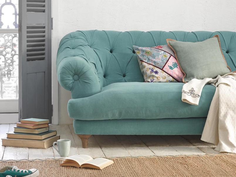Bagsie British made luxury chesterfield sofa
