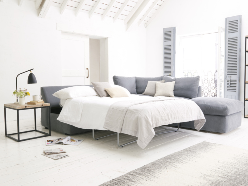 Chatnap comfy double sofa bed with no arms