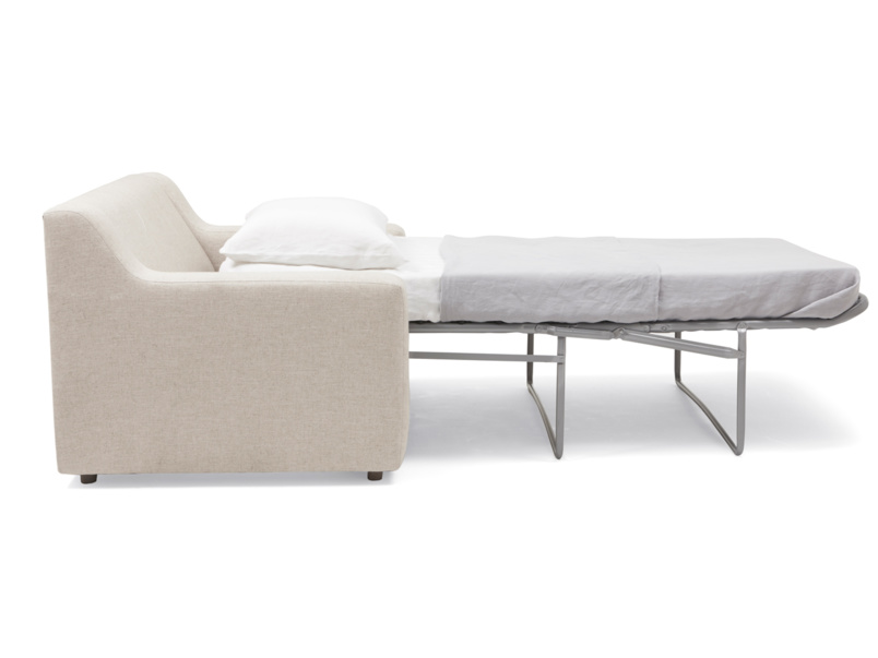 Modern contemporary Cloud luxury single love seat sofa bed