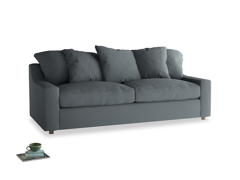 Large Cloud Sofa in Meteor grey clever linen