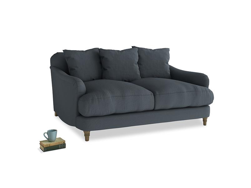 Small Achilles Sofa in Lava grey clever linen