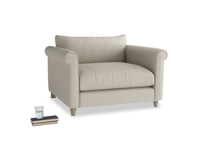 Fabric snuggle Weekender love seat