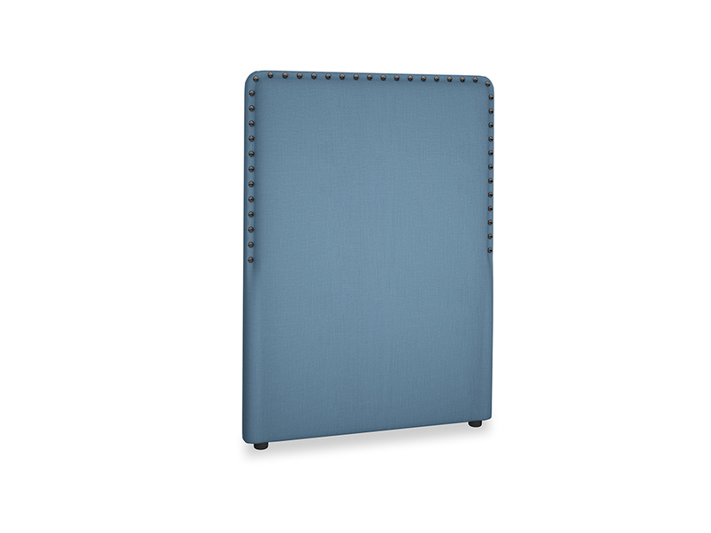 Single Smith Headboard in Easy blue clever linen