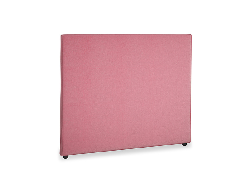 Double Piper Headboard in Blushed pink vintage velvet