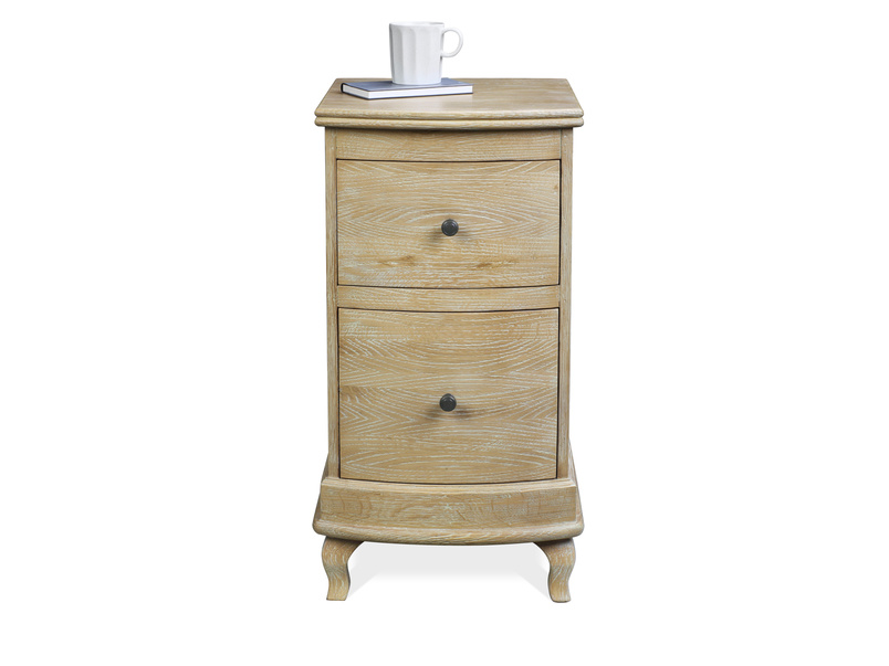 French style Bastille wood side table