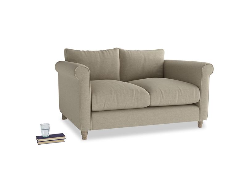 Small Weekender Sofa in Jute vintage linen