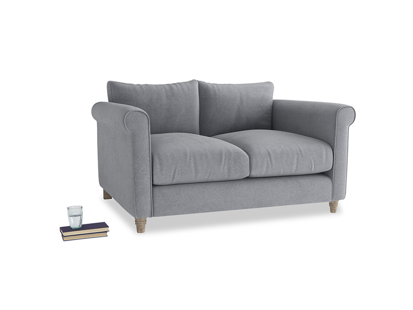 Small Weekender Sofa in Dove grey wool