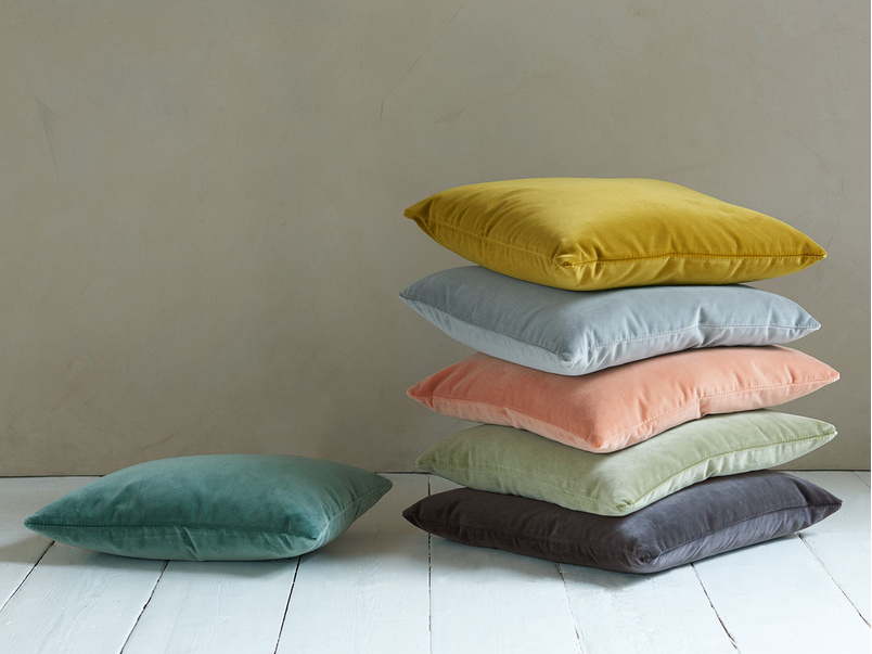 British made feather filled Classic Scatter cushions