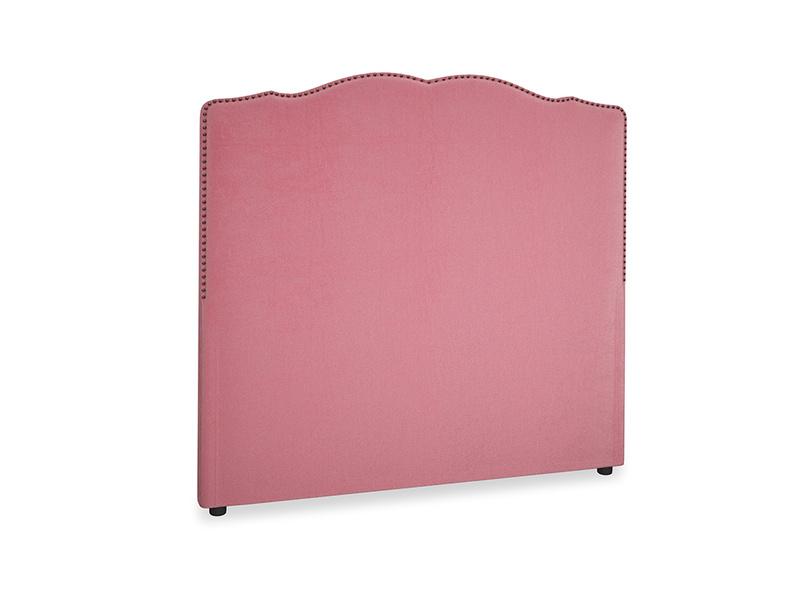 Double Marie Headboard in Blushed pink vintage velvet