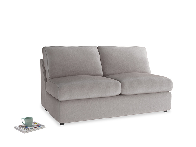 Chatnap Sofa Bed in Soothing grey vintage velvet