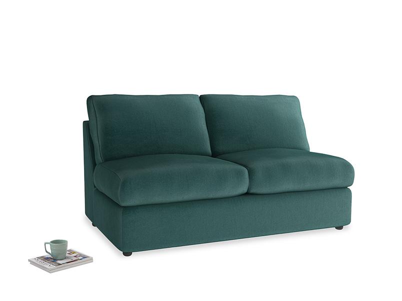 Chatnap Sofa Bed in Timeless teal vintage velvet
