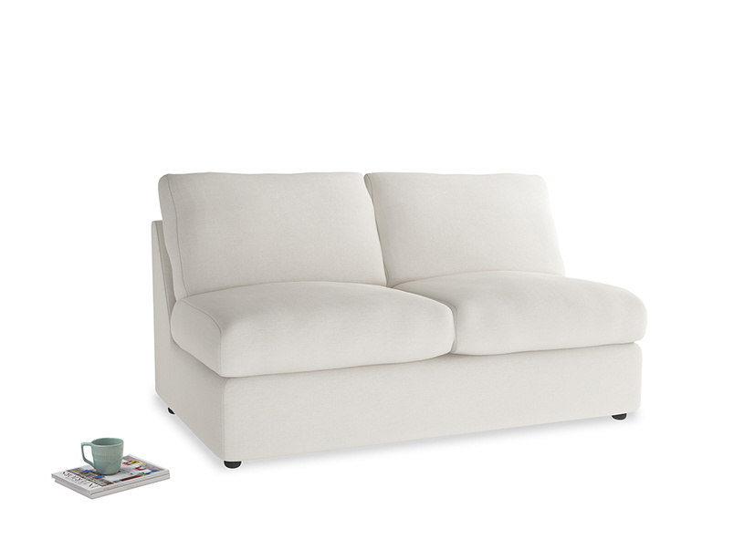 Chatnap Sofa Bed in Oyster white clever linen
