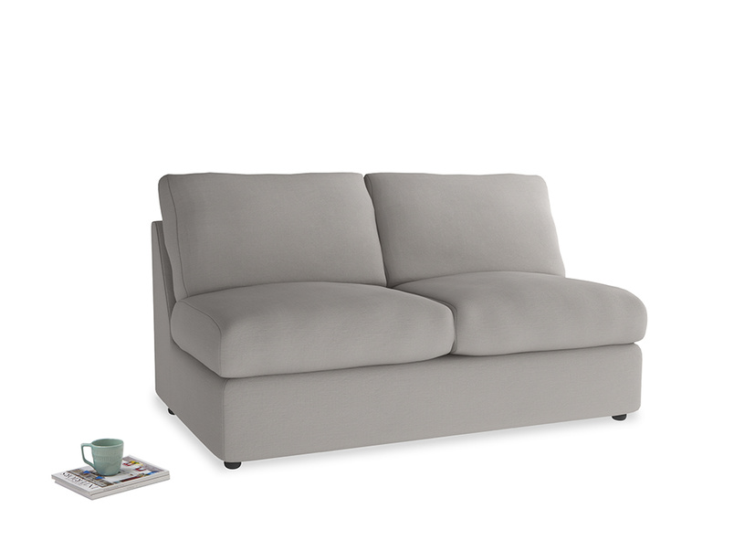 Chatnap Sofa Bed in Safe grey clever linen
