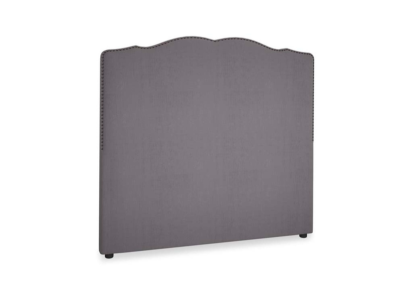 Double Marie Headboard in Graphite grey clever cotton