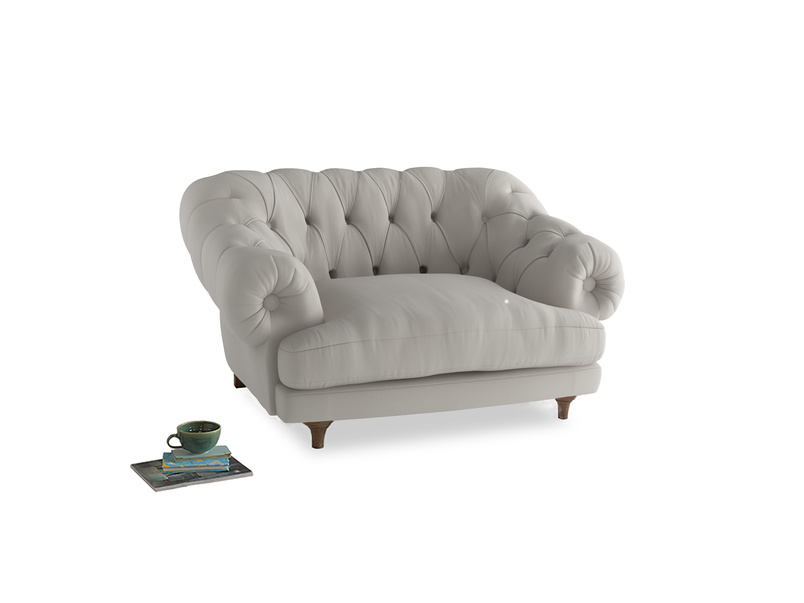 Bagsie Love Seat in Moondust grey clever cotton