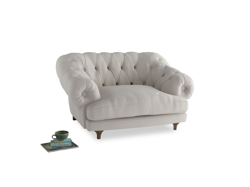 Bagsie Love Seat in Chalk clever cotton