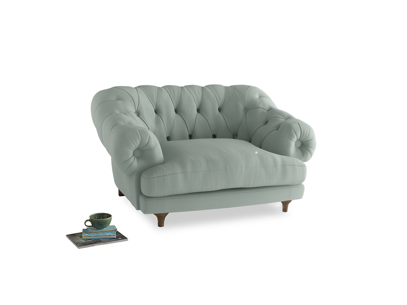 Bagsie Love Seat in Sea surf clever cotton
