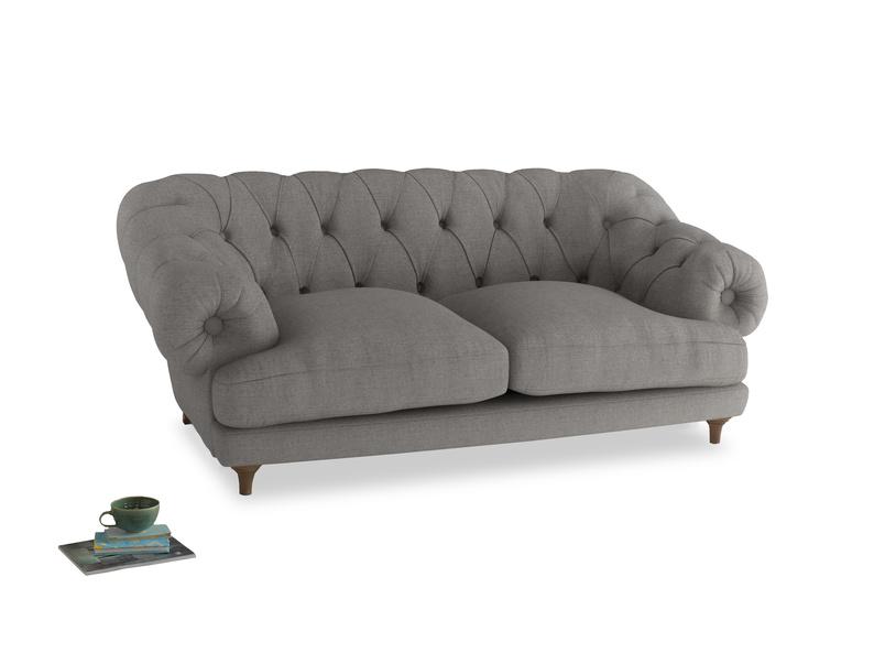 Medium Bagsie Sofa in Marl grey clever woolly fabric