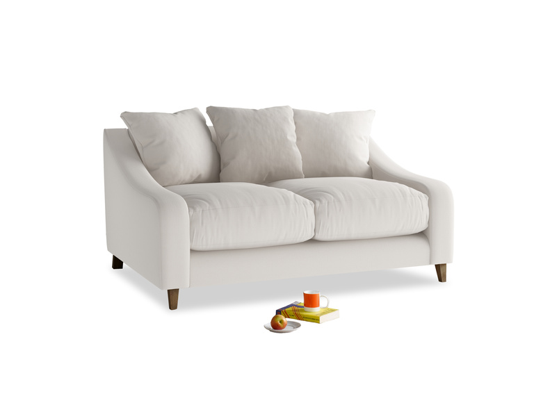 Small Oscar Sofa in Chalk clever cotton