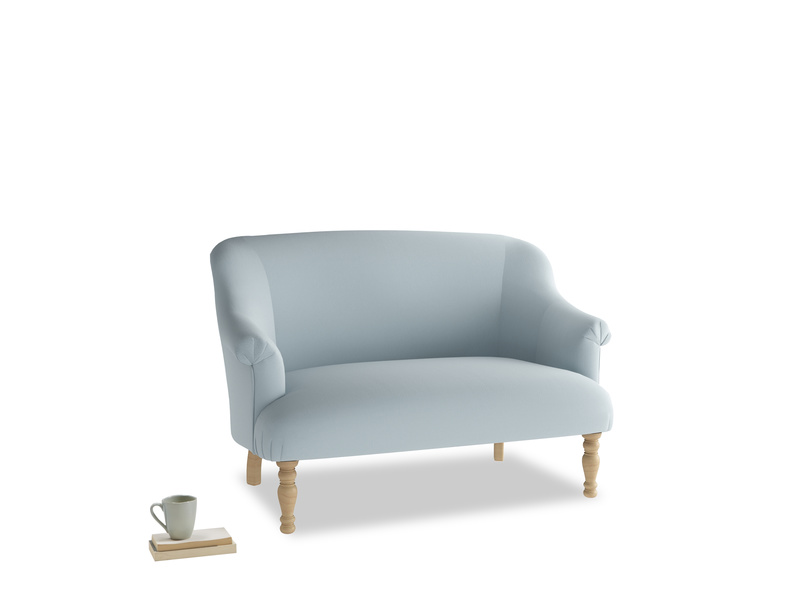 Small Sweetie Sofa in Scandi blue clever cotton