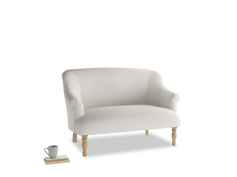 Small Sweetie Sofa in Chalk clever cotton