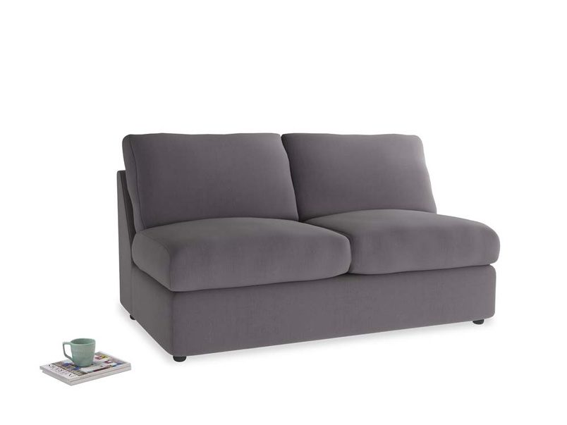 Chatnap Sofa Bed in Graphite grey clever cotton
