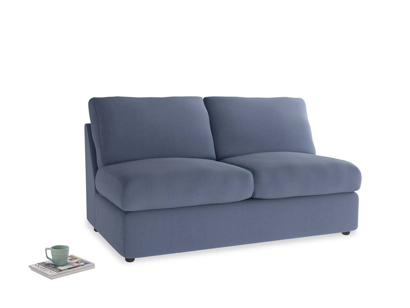 Chatnap Sofa Bed in Breton blue clever cotton