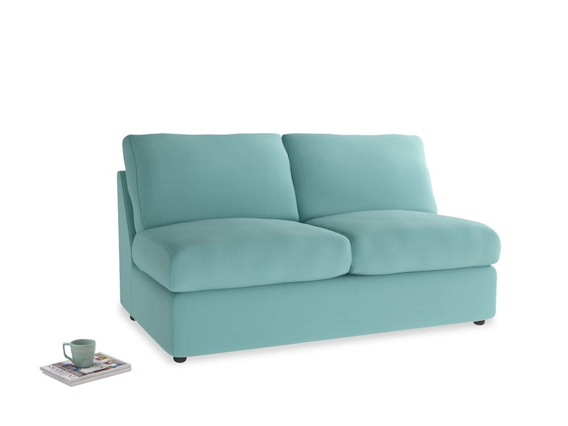 Chatnap Sofa Bed in Kingfisher clever cotton
