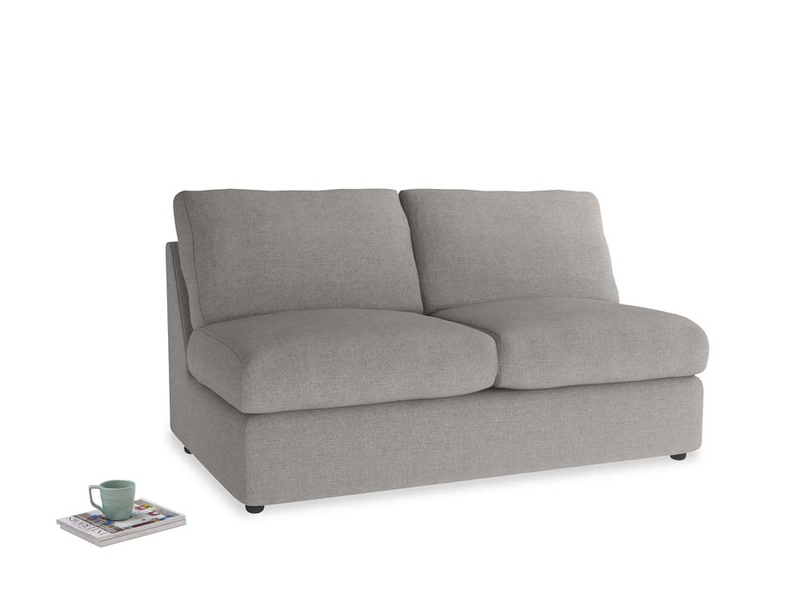 Chatnap Storage Sofa in Marl grey clever woolly fabric