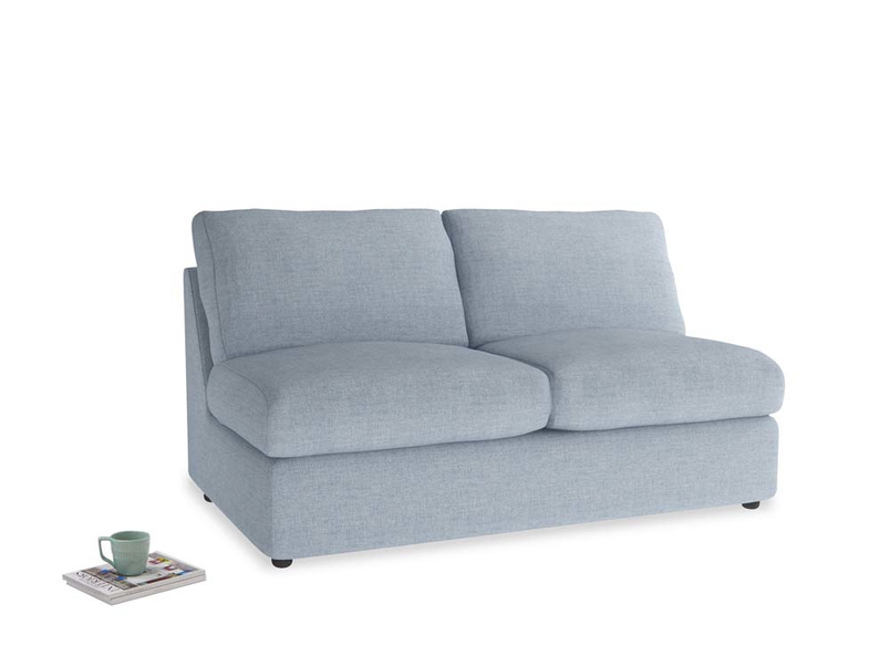 Chatnap Storage Sofa in Frost clever woolly fabric